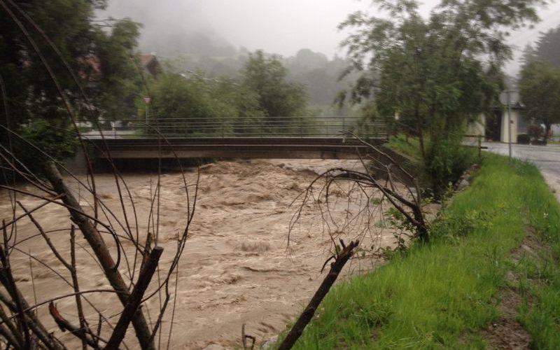 Hochwassereinsätze 31.7. und 3.8.2014