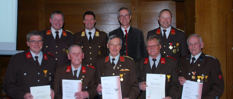 118. Jahreshauptversammlung der Freiwilligen Feuerwehr Schwoich