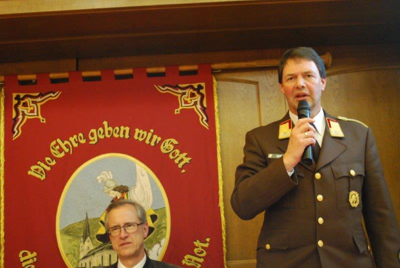 117. Jahreshauptversammlung der Freiwilligen Feuerwehr Schwoich