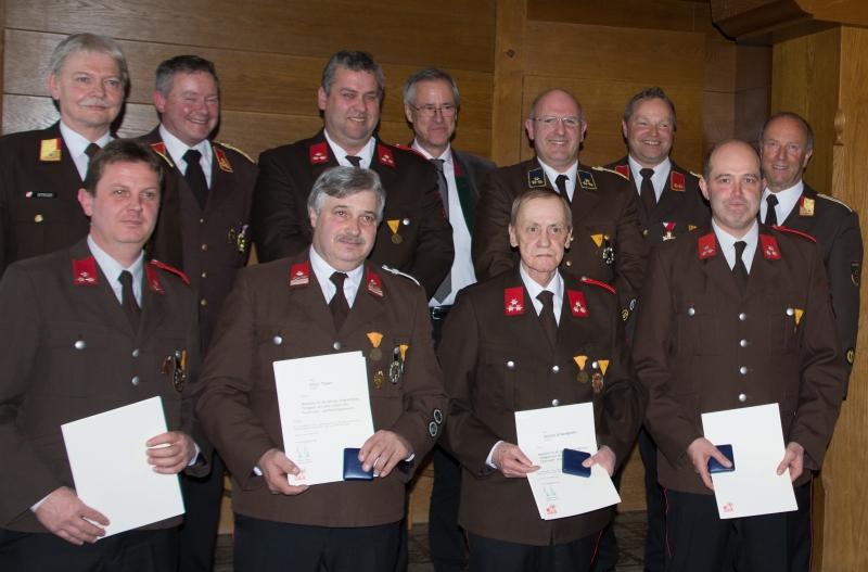 119. Jahreshauptversammlung der FF Schwoich